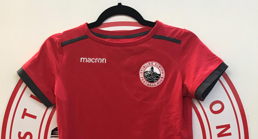 New items in club shop