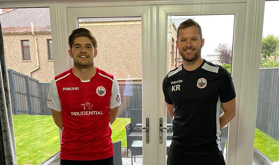 Jack Leitch is sixth new signing