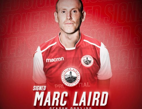 New signing: Marc Laird