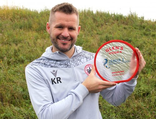 Kevin Rutkiewicz wins Manager of the Month